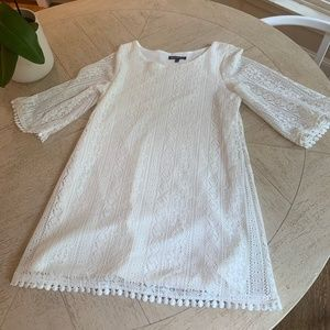 NWOT lace A line swing dress with lining
